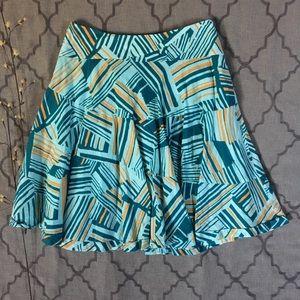 Abstract Print Odille Skirt